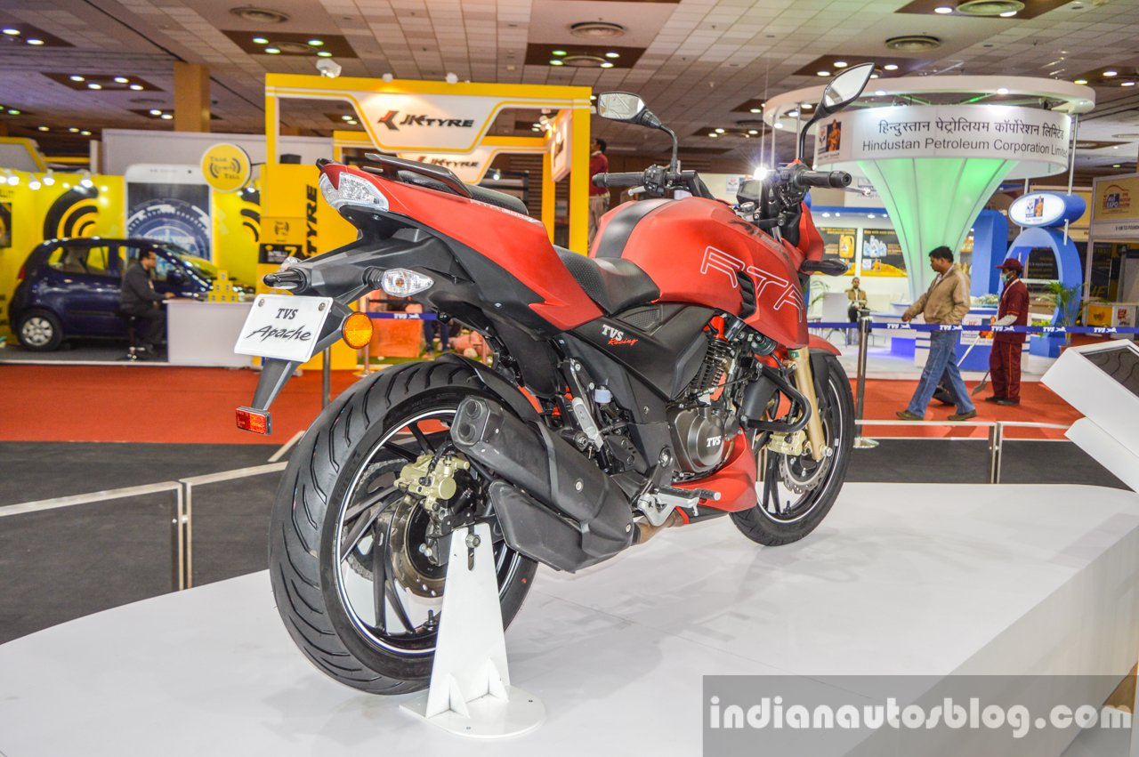 Tvs Apache Rtr 200 Faired Or Adventure Variant Ruled Out