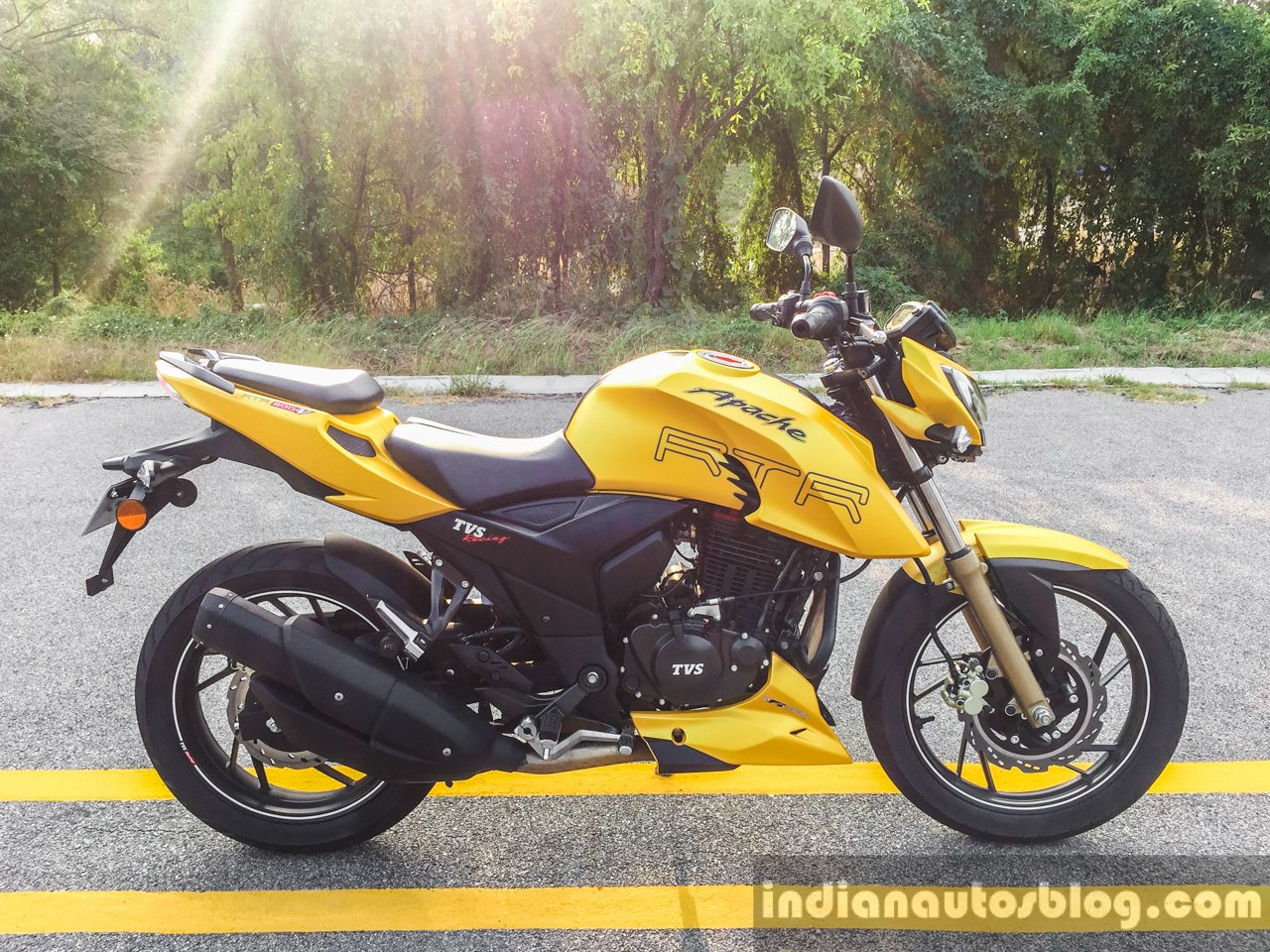 TVS Apache RTR 200 4V To Be Launched In Nepal By April-end