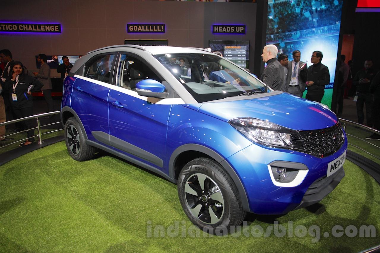 Tata Nexon front quarters at Auto Expo 2016