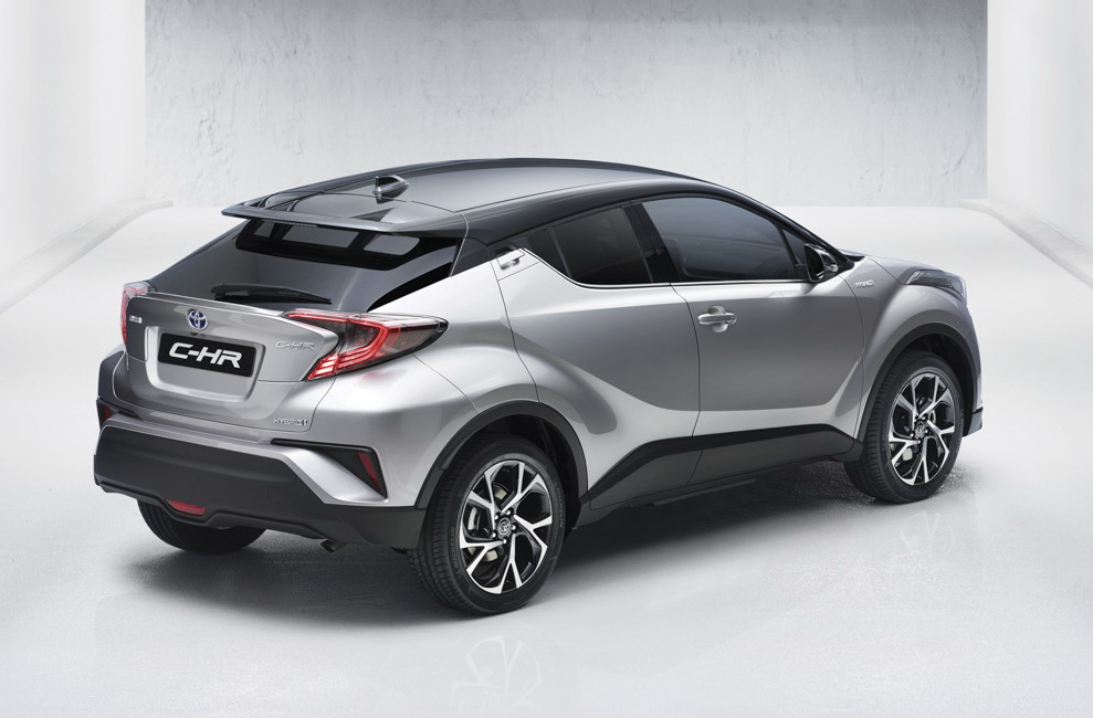 Toyota C-HR rear three quarters leaked image
