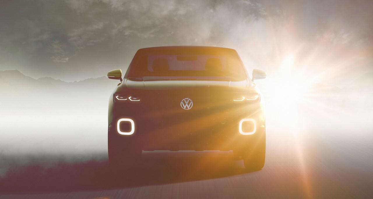 VW T-Cross concept front teaser