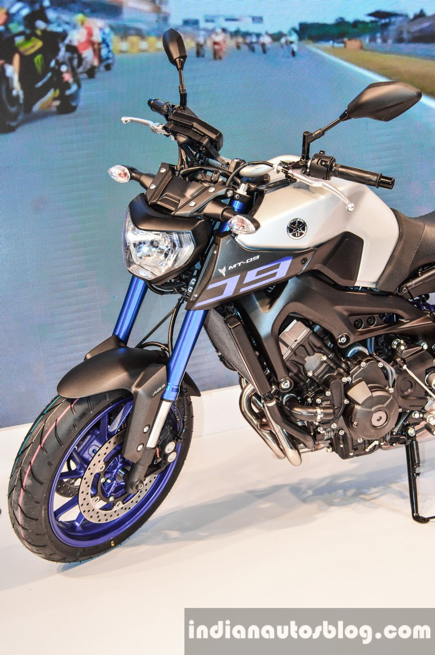 Yamaha MT-09 launched at INR 10 20 lakhs - Auto Expo Live