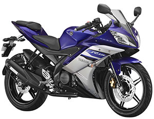 Yamaha R15 V2 Revving Blue launched