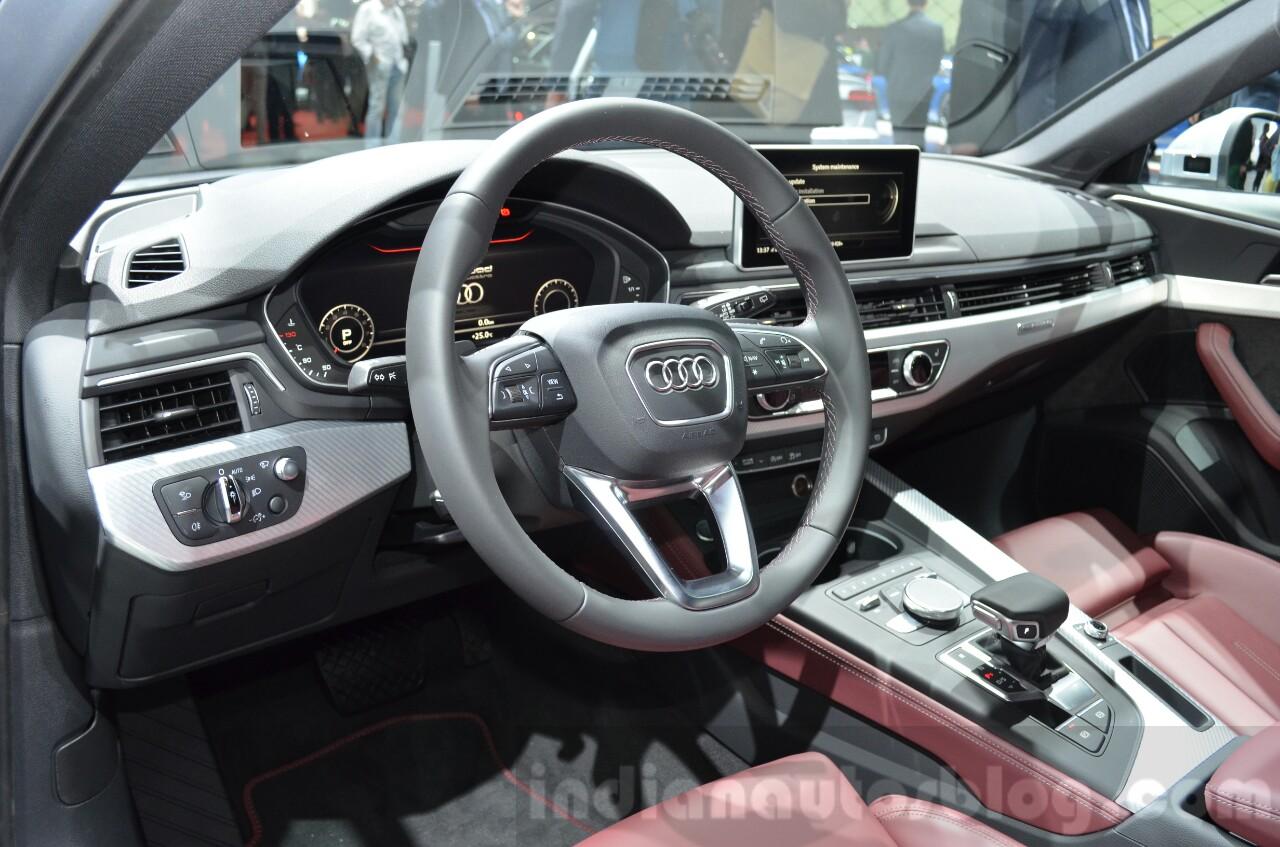 2016 Audi A4 Allroad Quattro Geneva Motor Show Live