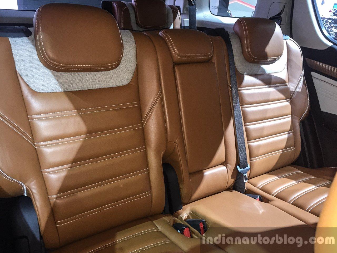 2016 Chevrolet Trailblazer Premier (facelift) rear seat back at 2016 BIMS