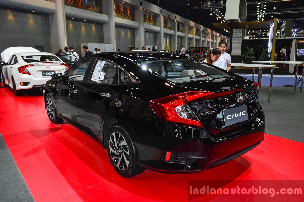 2016 Honda Civic (ASEAN-spec) rear quarter at 2016 BIMS