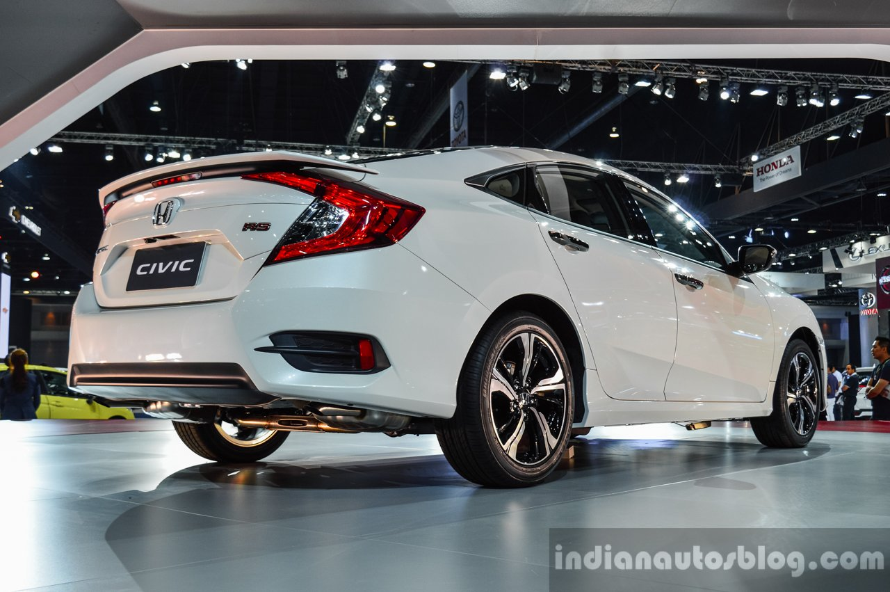 2016 Honda Civic RS (ASEAN Spec) Rear Quarter At 2016 BIMS