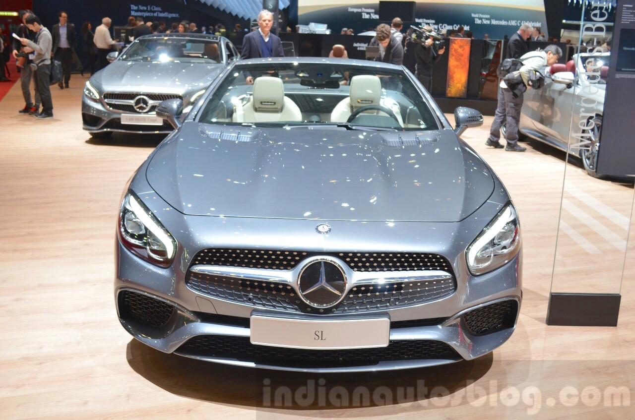 2016 Mercedes SL front at the 2016 Geneva Motor Show