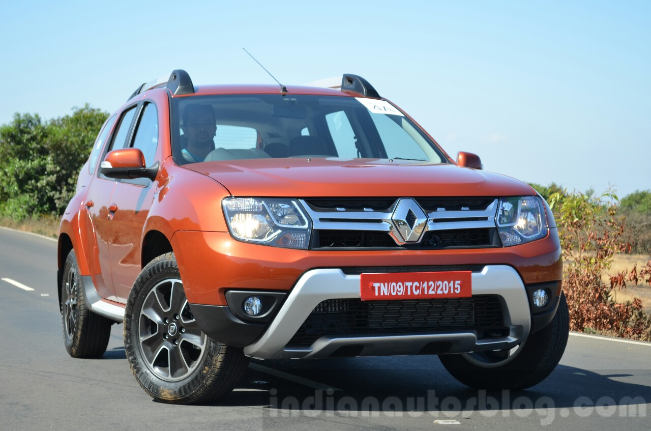Renault India GST Price Cut 2016 Renault Duster facelift