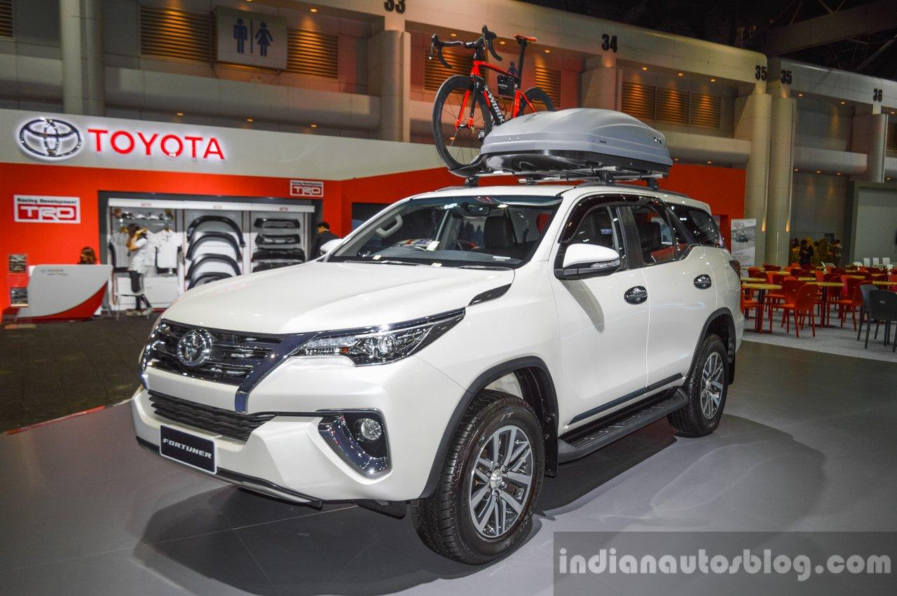 2016 Toyota Fortuner White at 2016 BIMS