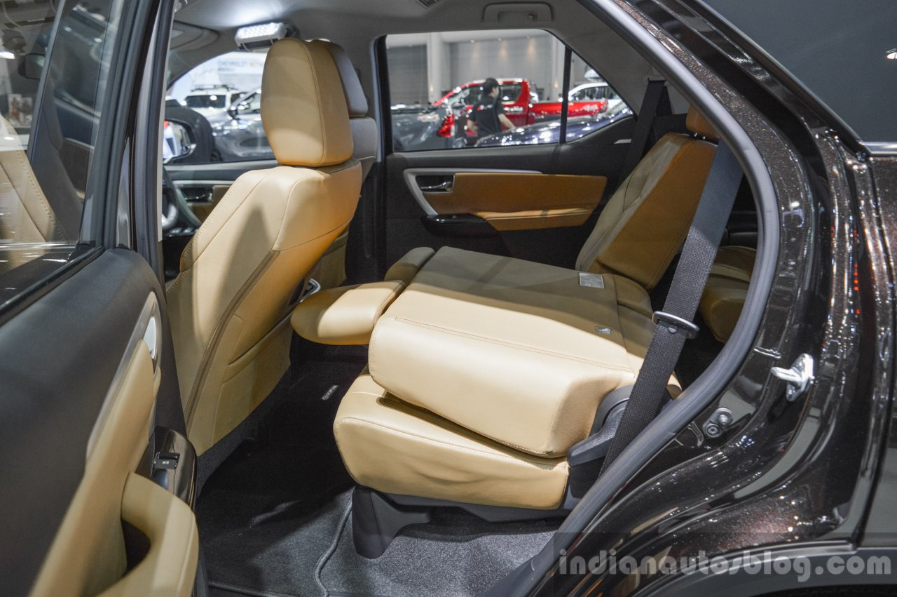 2016 Toyota Fortuner seat fold at 2016 BIMS