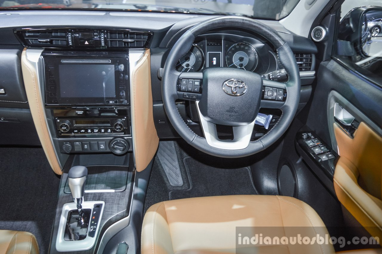 2016 Toyota Fortuner steering at 2016 BIMS