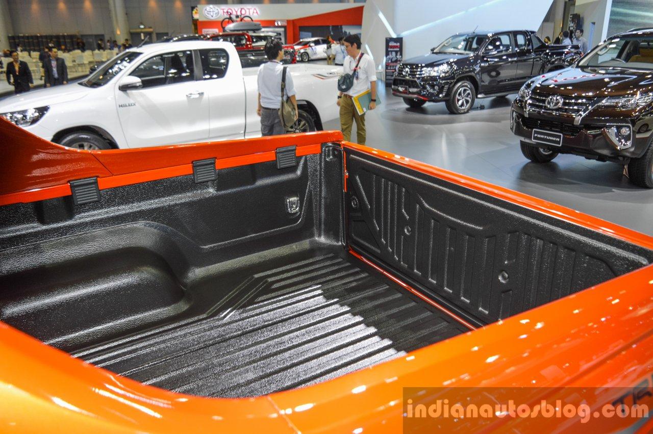 2016 Toyota Hilux Revo TRD Sportivo boot side at 2016 BIMS