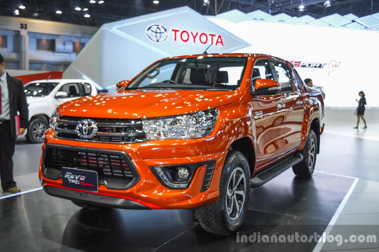 Next Gen Toyota Hilux Could Get Hybrid Powertrain Report