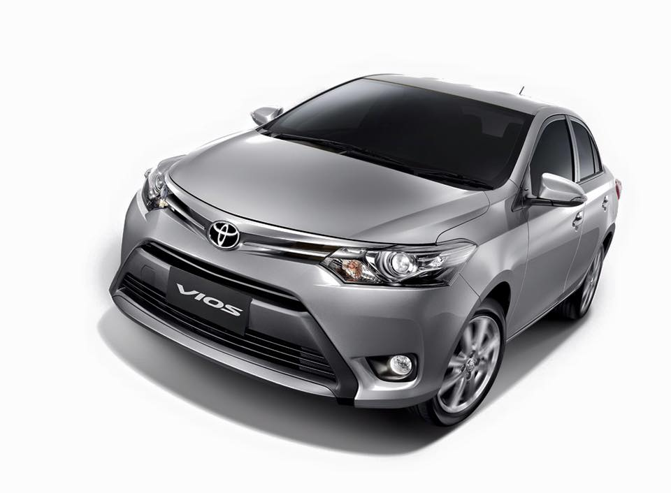 2016 Toyota Vios front quarter launched in Thailand