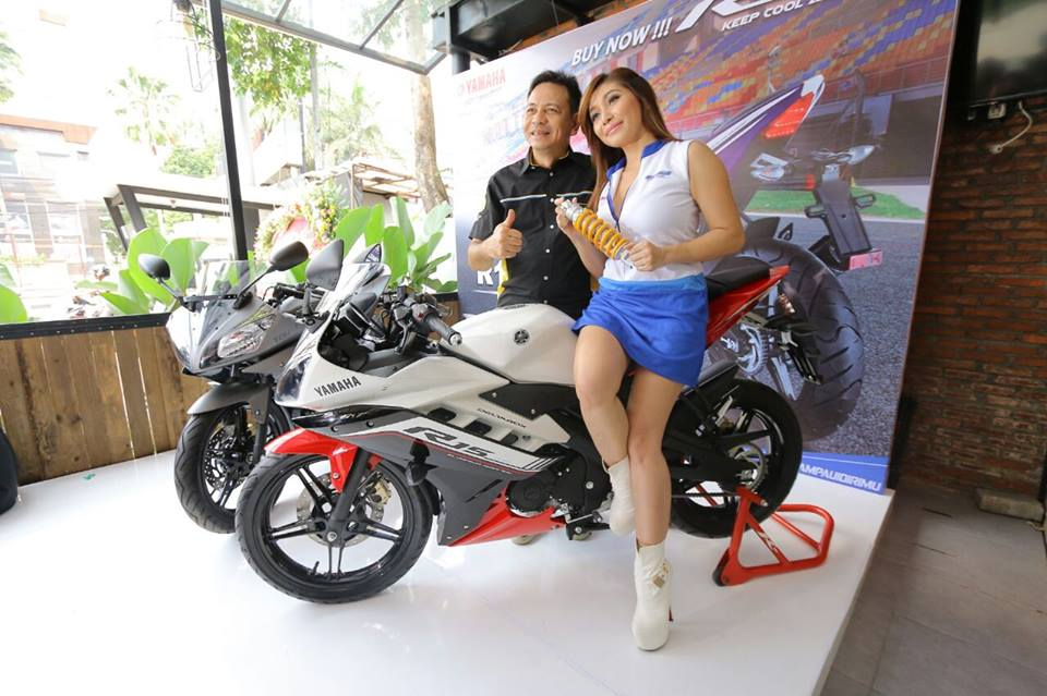 2016 Yamaha R15 Ohlins Limited Edition shocks launched in Indonesia