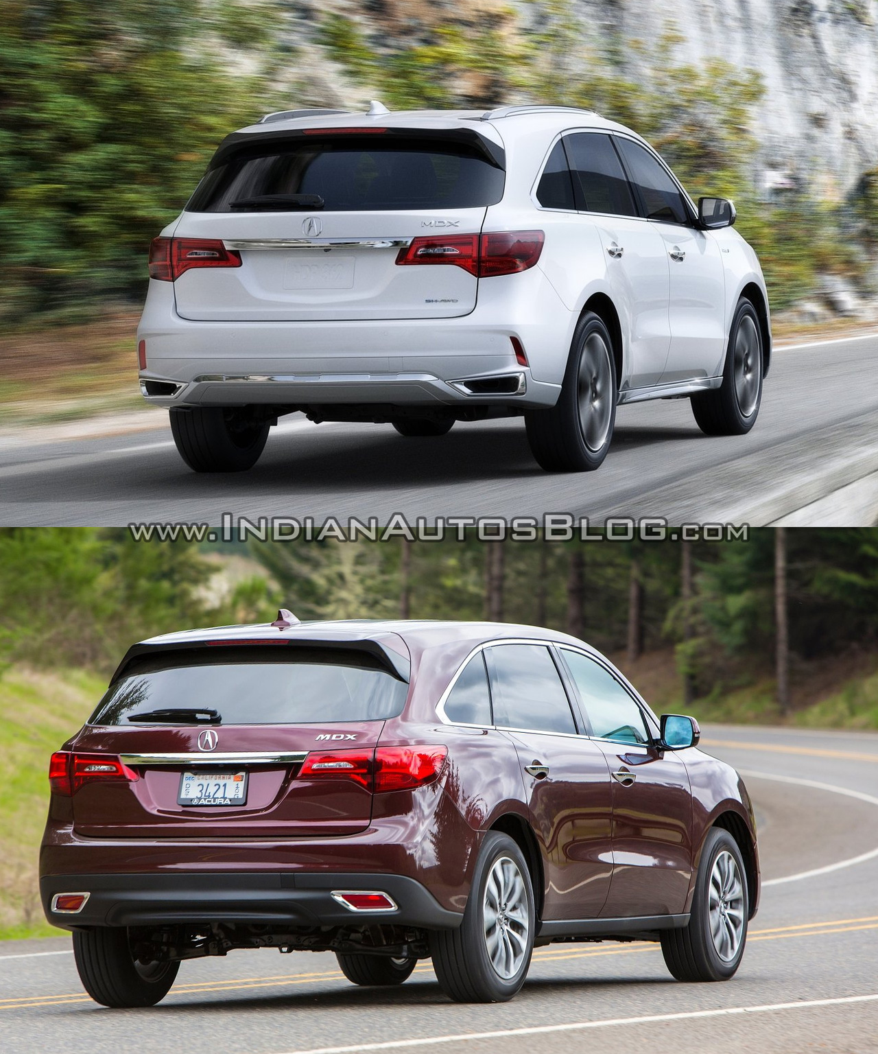 2017 Acura MDX Vs. Old Acura MDX Rear Three Quarters