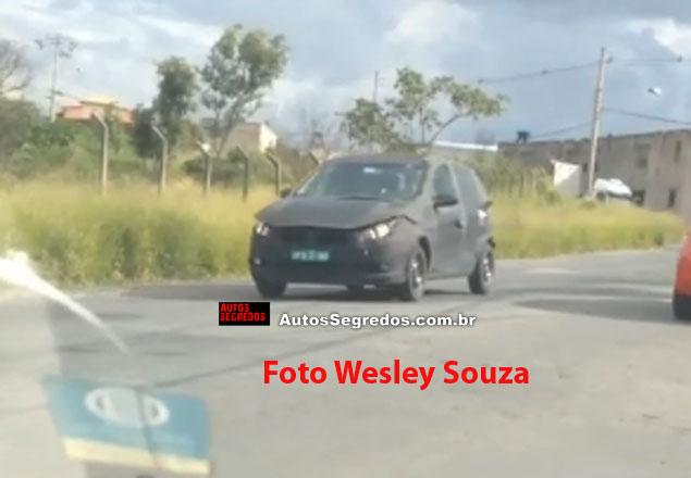 2017 Fiat Punto spied Brazil