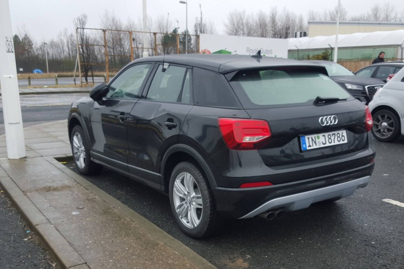 First Audi Q2 Spotted In The Uk 3 Spy Shots
