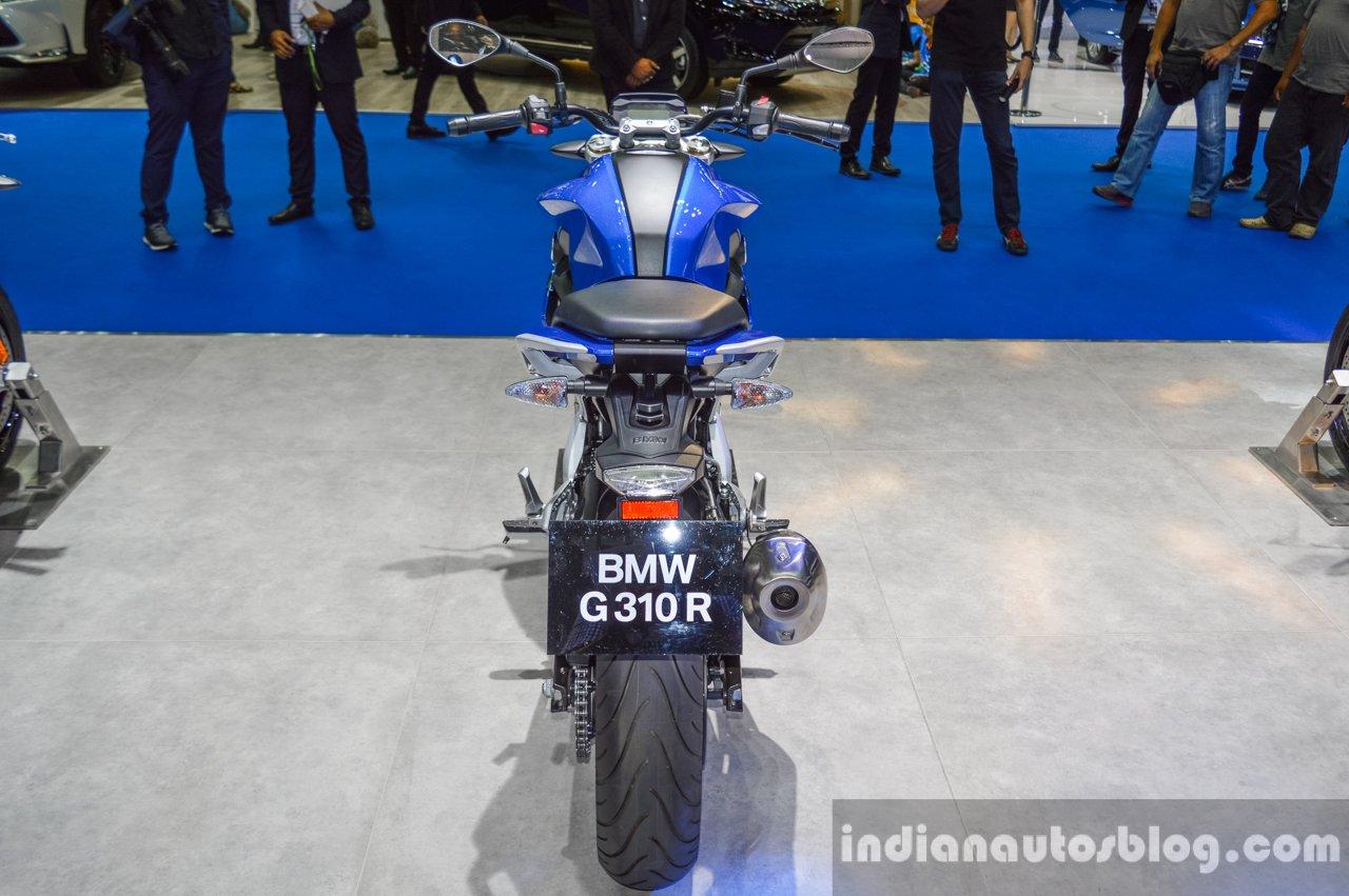 BMW G310R rear at 2016 BIMS