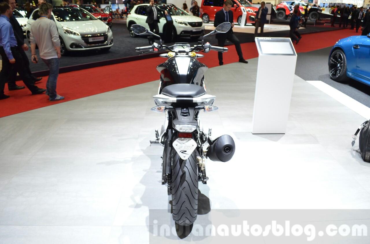 BMW G310R rear at 2016 Geneva Motor Show