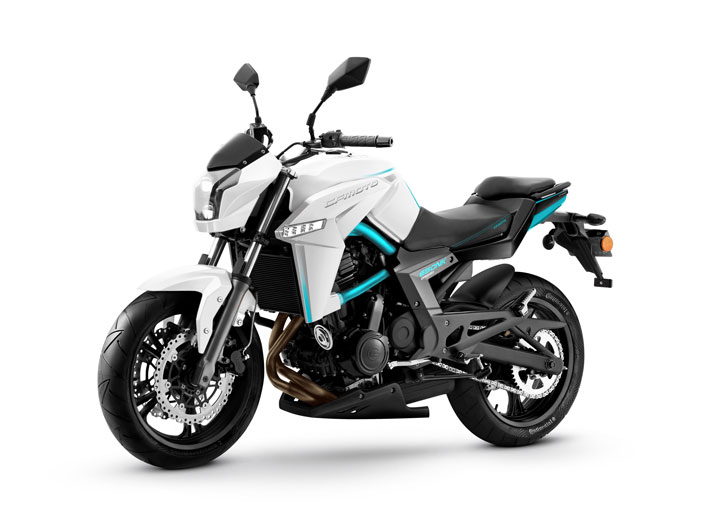 Eider 650 NK white launched in India