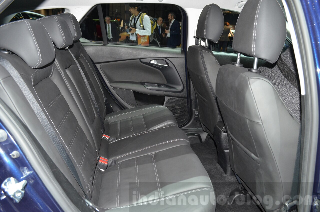 Fiat Tipo Estate rear seat at the Geneva Motor Show Live