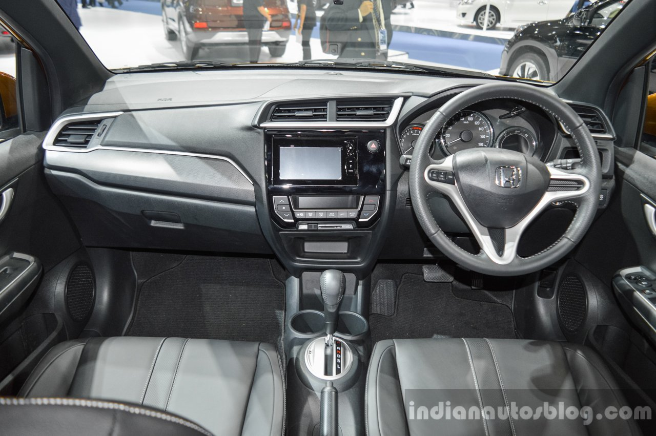 Honda Br V Interior At The 2016 Bims