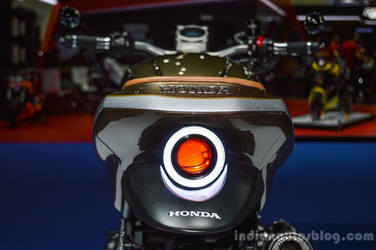Honda CB650 Scrambler Concept tail lamp at 2016 BIMS
