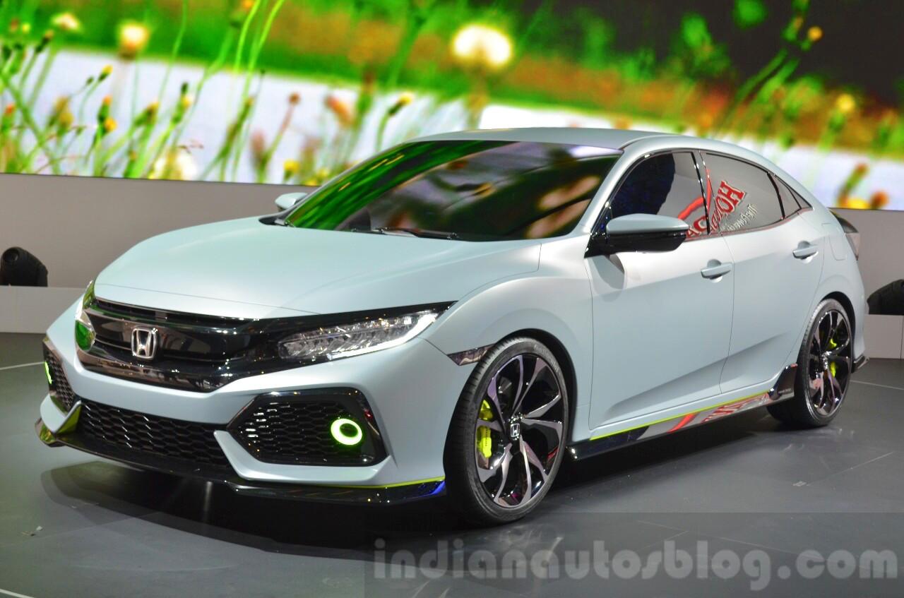 Honda Civic Hatchback Prototype at the 2016 Geneva Motor Show