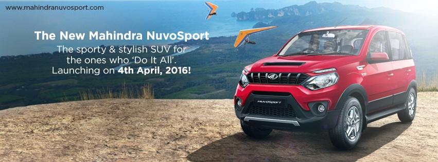 Mahindra NuvoSport launch