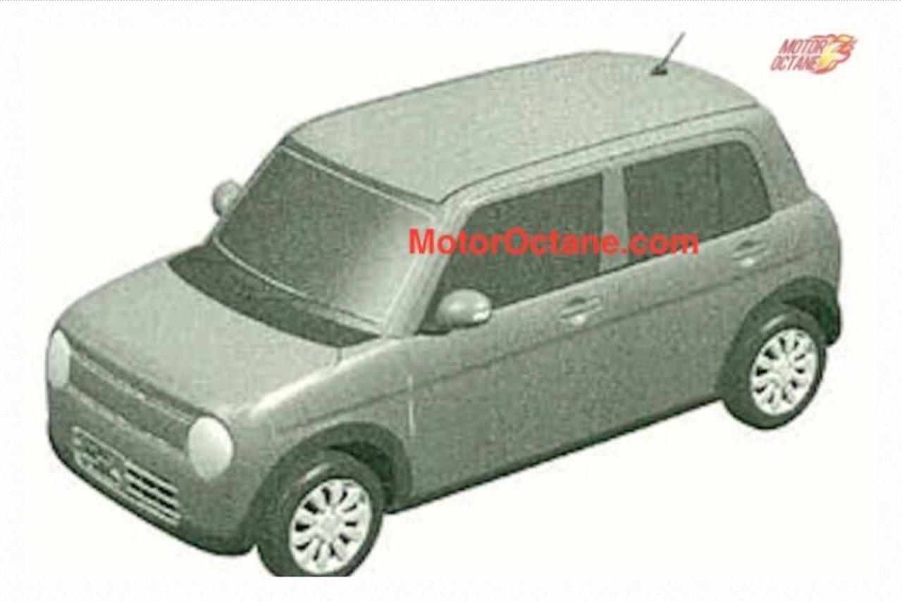 Maruti Alto Lapin patented in India