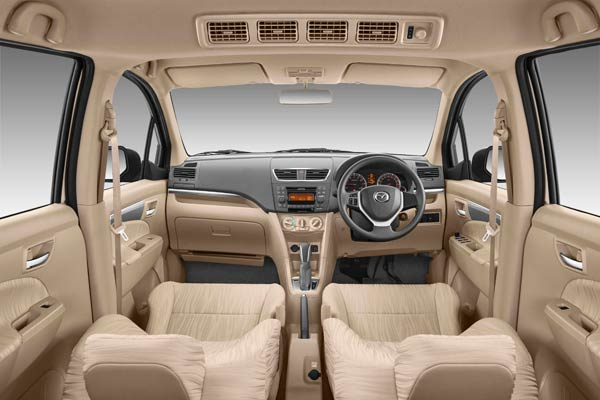 Mazda VX-1 facelift interior launched in Indonesia