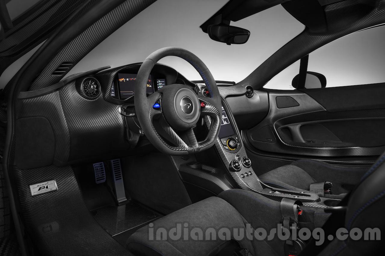 McLaren P1 by MSO interior