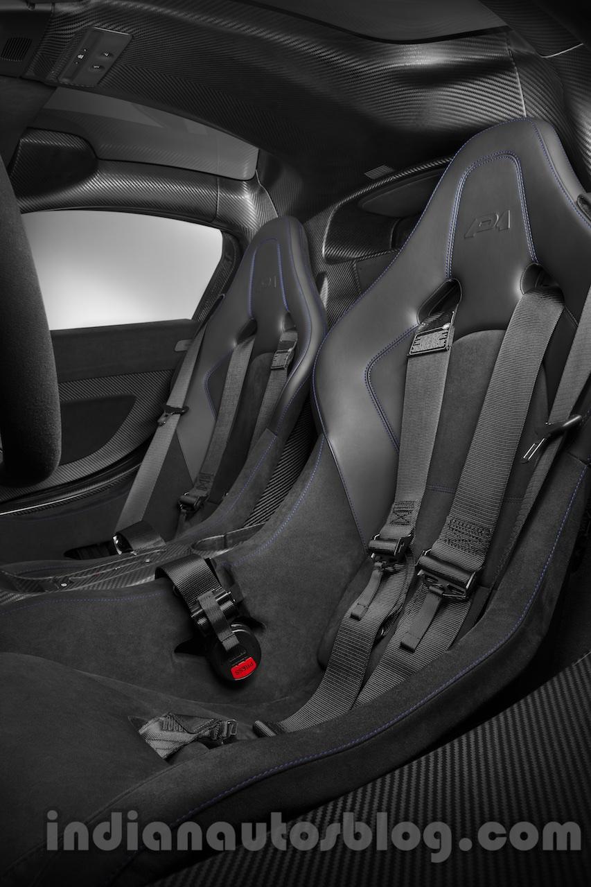 McLaren P1 by MSO seats