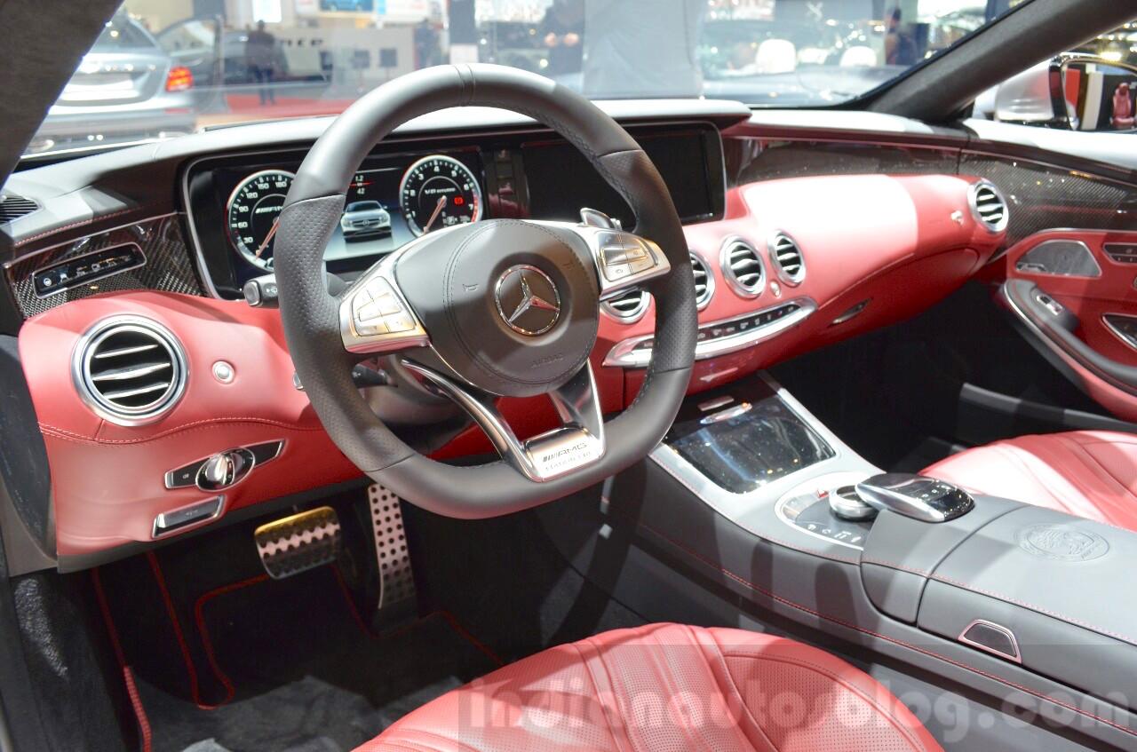 Mercedes-AMG S63 Cabriolet Edition 130 dashboard
