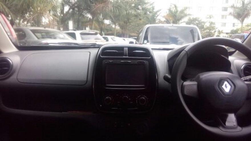Renault Kwid interior Kenya