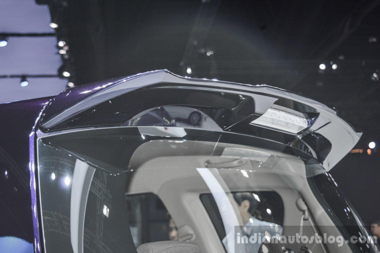 Suzuki Ertiga Dreza spoiler at 2016 BIMS