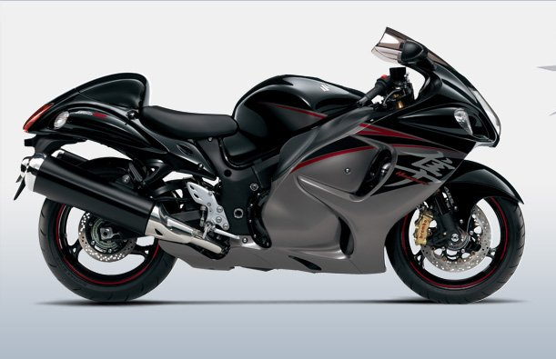 Suzuki Hayabusa black side