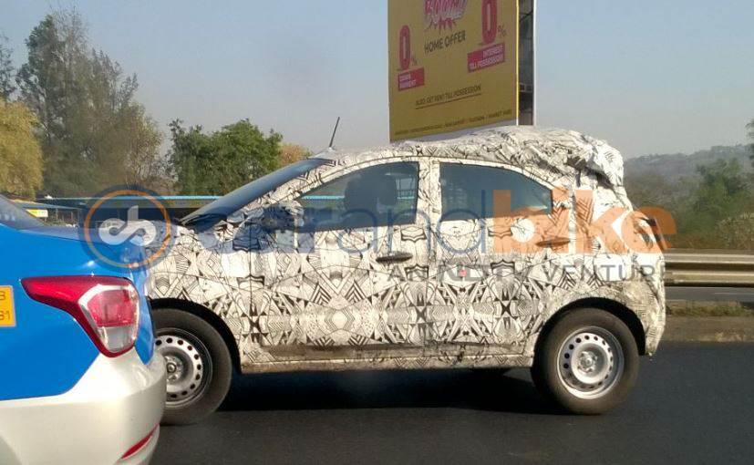 Tata Nexon doors spied camouflaged