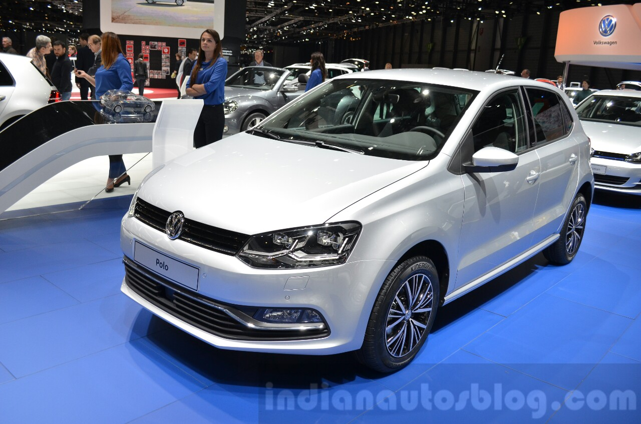 VW Polo Allstar at the 2016 Geneva Motor Show