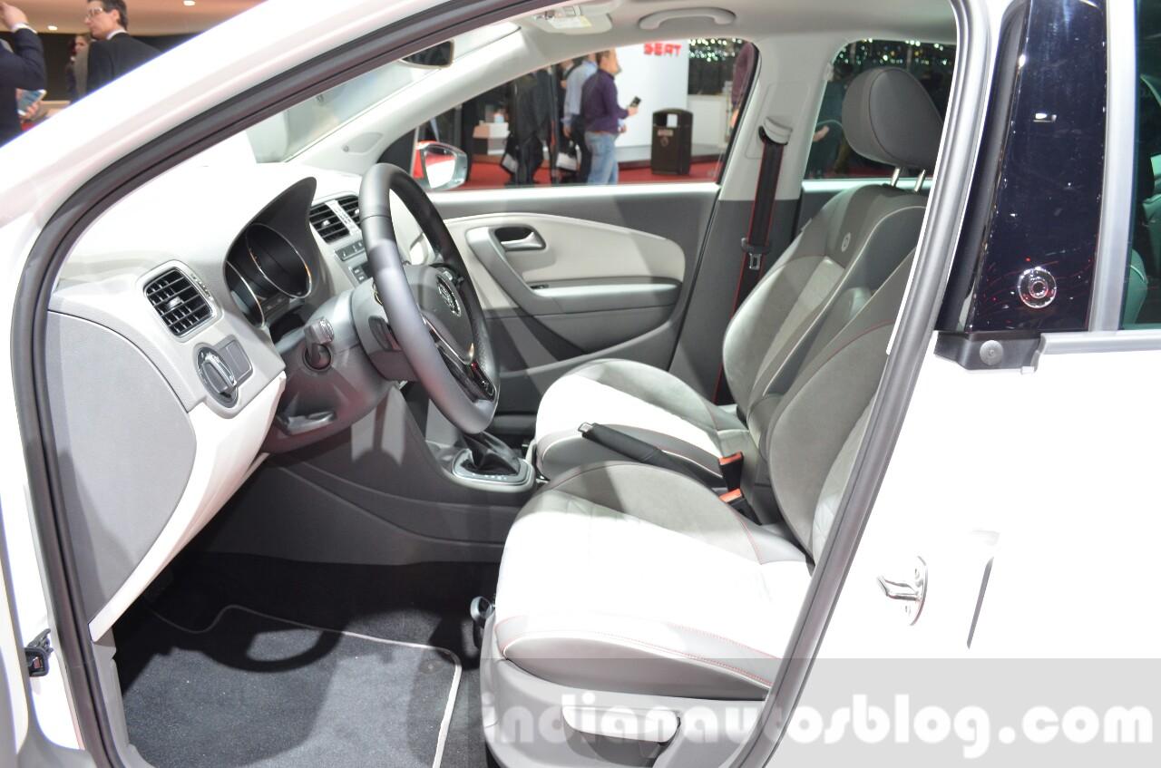 VW Polo Beats front seats at the 2016 Geneva Motor Show