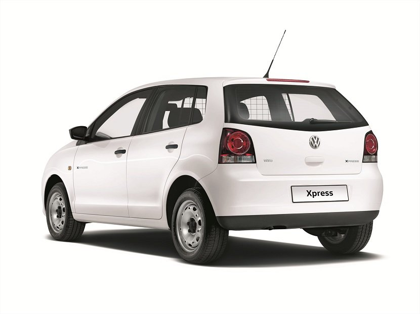 VW Polo Vivo Xpress rear three quarter press image