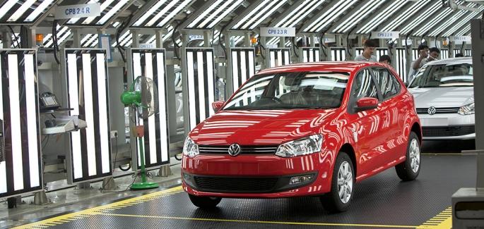 Volkswagen Pune Plant in Chakan