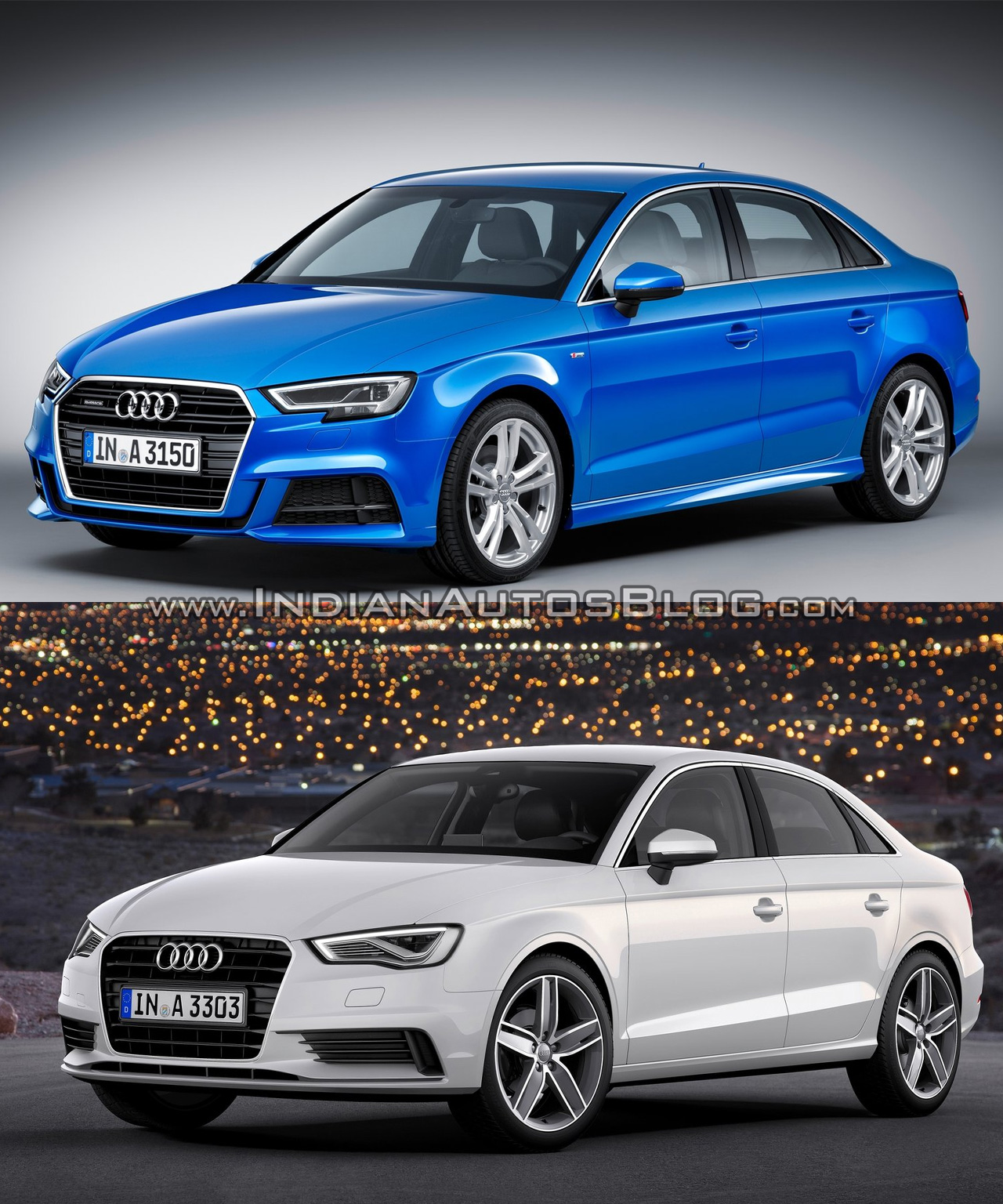 audi a3 sedan facelift old vs new. Black Bedroom Furniture Sets. Home Design Ideas