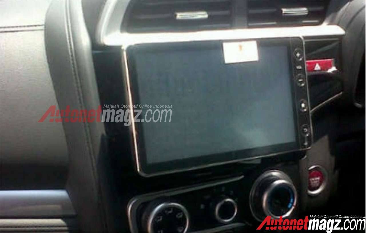 2016 Honda Jazz Indonesia 8.0-inch head unit