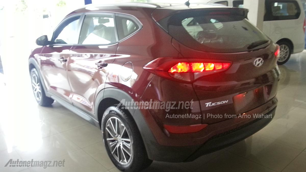 2016 Hyundai Tucson spy shot Indonesia