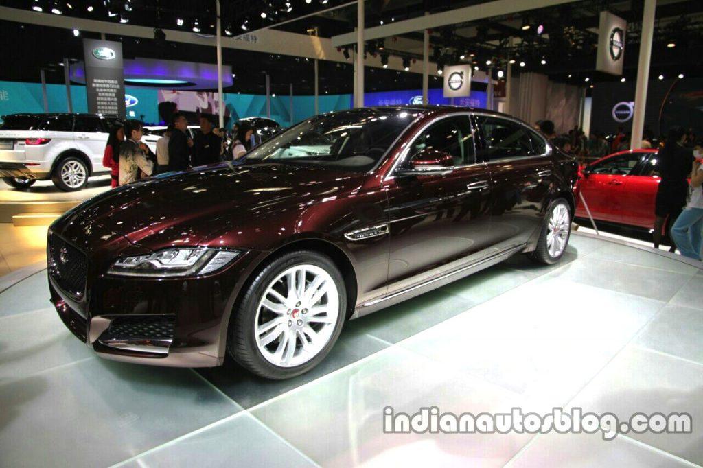 2016 Jaguar XF-L at Auto China 2016