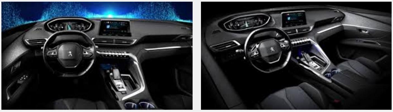 2016 Peugeot 3008 interior leaked image
