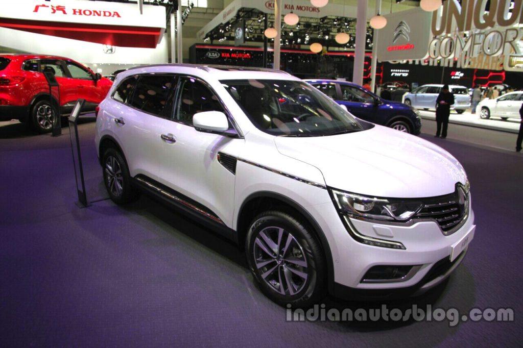 2016 Renault Koleos front quarter at Auto China 2016